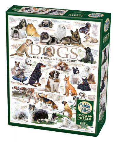 Dog Quotes 1000 piece Cobble Hill Puzzle Co dog jigsaw