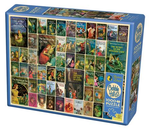 Nancy Drew 1000 piece Cobble Hill Puzle Co mystery jigsaw