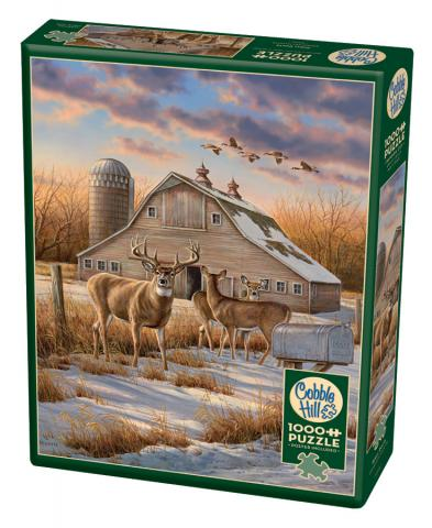 Rural Route - 1000 piece - Cobble Hill Puzzle Co - country puzzle