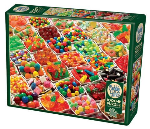 Sugar Overload - 1000 piece - Cobble Hill Puzzle Co - truly original photo jigsaw