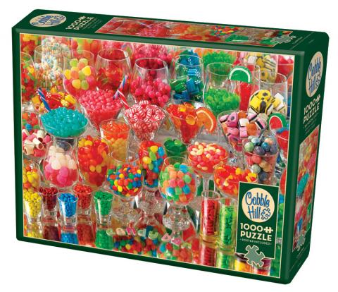 Candy Bar 1000 piece sugar puzzle by Cobble Hill Puzzle Co