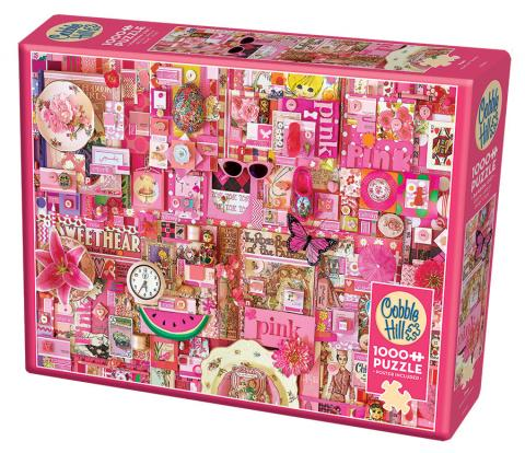 Pink Rainbow Collection by Cobble Hill Puzzle Co & Shelley Davies