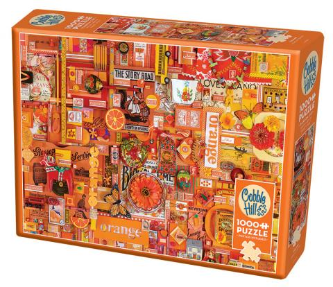 Orange  Rainbow Collection by Cobble Hill Puzzle Co & Shelley Davies