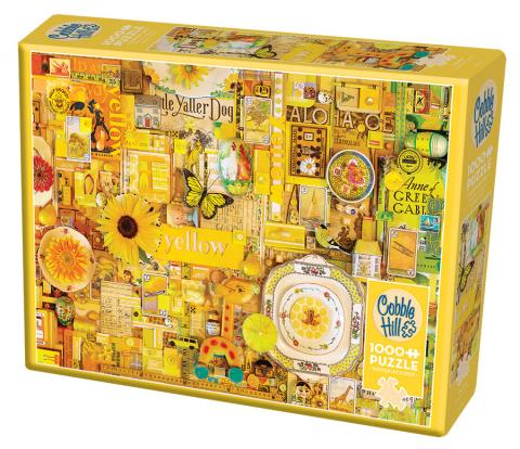 Yellow Rainbow Collection by Cobble Hill Puzzle Co & Shelley Davies