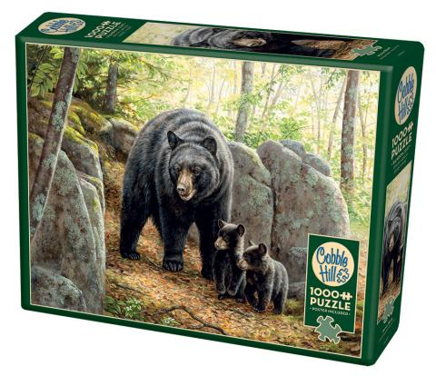 Mama Bear 1000 piece wildlife by Cobble Hill Puzzle Co