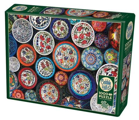 Bowls - 1000 pc puzzle - Cobble Hill Puzzle Co