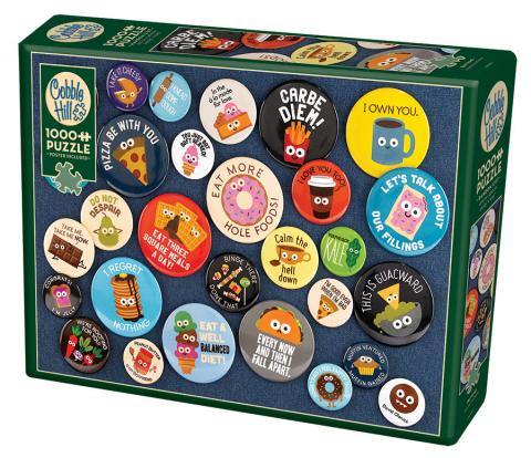 Buttons- 1000 pc puzzle - Cobble Hill Puzzle Co