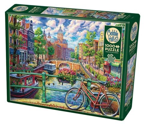 Amsterdam Canal 1000 piece