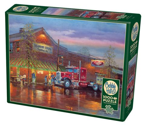 Big Red - 1000 pc puzzle - Cobble Hill Puzzle Co