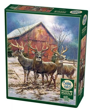 Three Kings - 1000 pc puzzle - Cobble Hill Puzzle Co