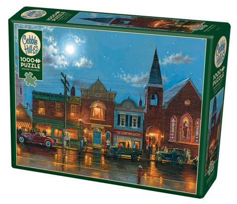 Evening Service - 1000 pc puzzle - Cobble Hill Puzzle Co