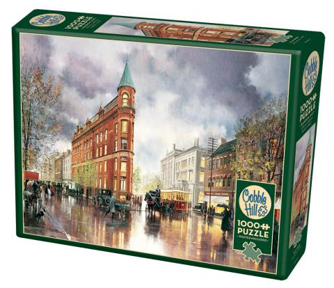 Flat Iron - 1000 pc puzzle - Cobble Hill Puzzle Co