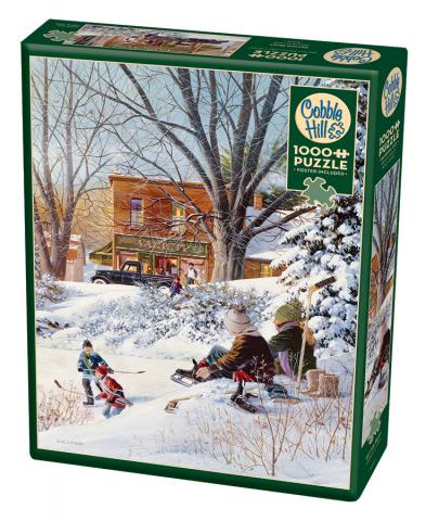 Getting Ready - 1000 pc puzzle - Cobble Hill Puzzle Co
