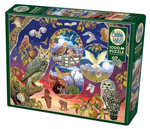 Owl Magic - 1000 pc puzzle - Cobble Hill Puzzle Co