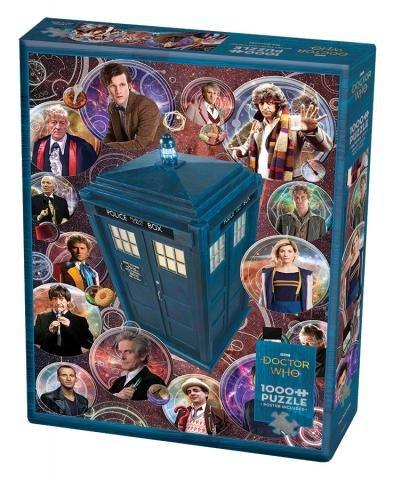 Doctor Who: The Doctors 1000 pc puzzle - Cobble Hill Puzzle Co