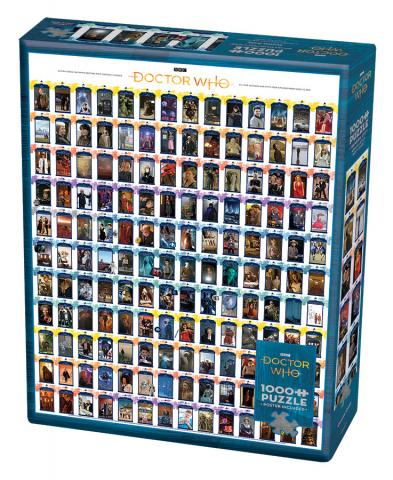 Doctor Who: Episode Guide 1000 pc puzzle - Cobble Hill Puzzle Co