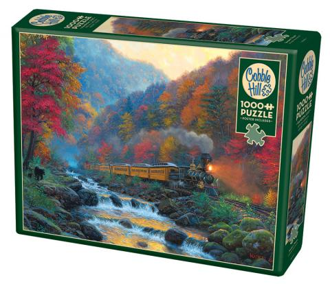 Smoky Train - 1000 pc puzzle - Cobble Hill Puzzle Co