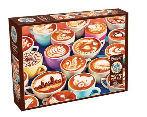 BaristArt 1000 pc puzzle - Cobble Hill Puzzle Co