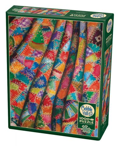 Crazy Quilt 1000 pc puzzle - Cobble Hill Puzzle Co