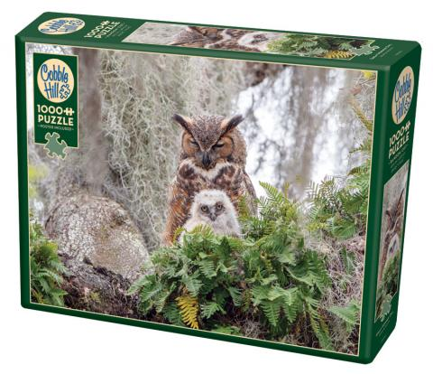 Great Horned Owl 1000 pc puzzle - Cobble Hill Puzzle Co