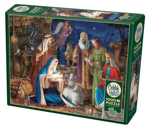 Miracle in Bethlehem 1000 pc puzzle - Cobble Hill Puzzle Co