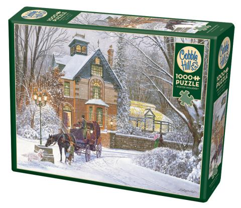 An Evening Stroll 1000 pc puzzle - Cobble Hill Puzzle Co