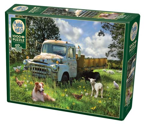 Sheep Field 1000 pc puzzle - Cobble Hill Puzzle Co