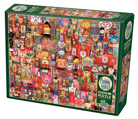 Dollies 1000 piece puzzle by Cobble Hill