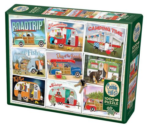 Hitting the road 1000 piece puzzle by Cobble Hill