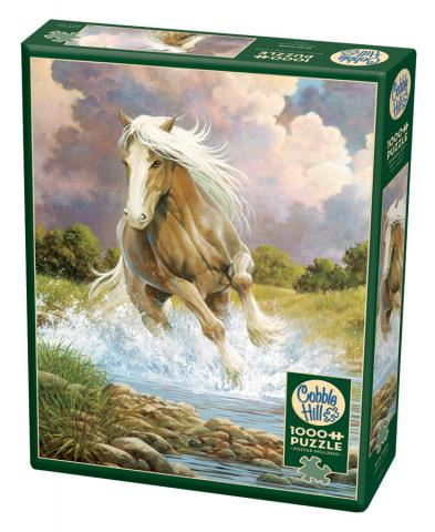 River Horse 1000 piece puzzle by Cobble Hill