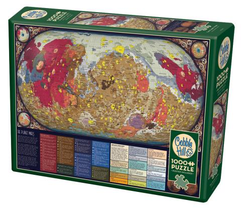 The Planet Mars 1000 piece puzzle by Cobble Hill