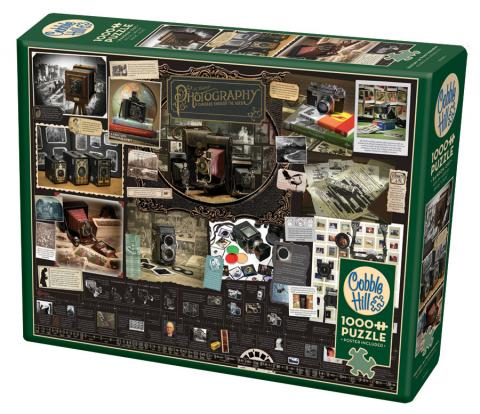 History of Photography Cobble Hill 1000 piece puzzle