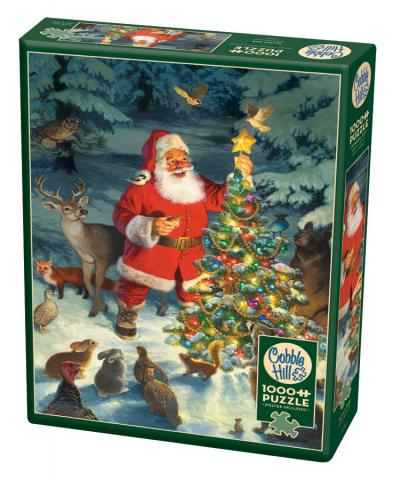 Santa's Tree 1000 piece puzzle by Cobble Hill
