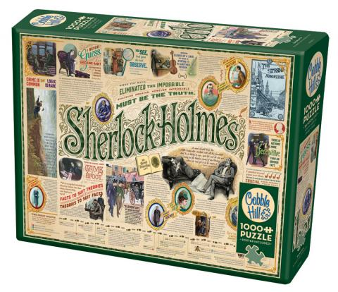 Sherlock 1000 piece puzzle by Cobble Hill