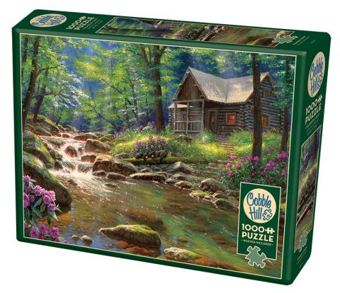 Fishing Cabin Cobble Hill jigsaw puzzle 1000pc