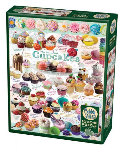 Cupcake Time Cobble Hill jigsaw puzzle 1000pc