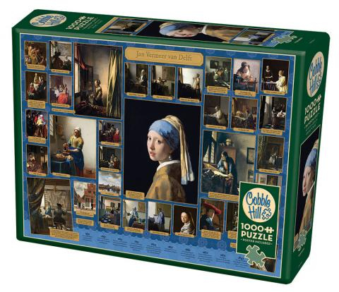 Vermeer Cobble Hill jigsaw puzzle 1000pc