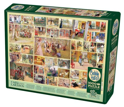 Carl Larsson Cobble Hill jigsaw puzzle 1000pc