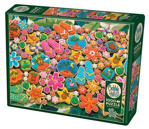 Tropical Cookies Cobble Hill Puzzles 1000 piece jigsaw