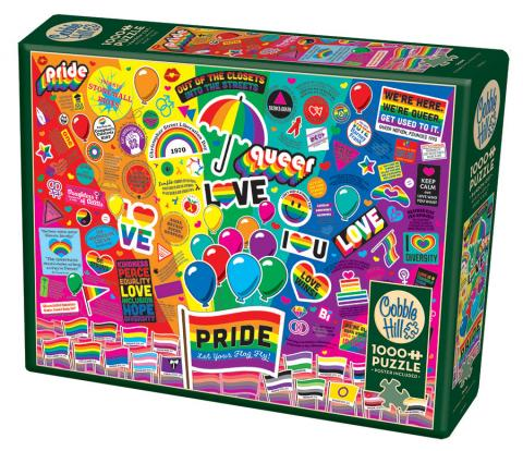 Pride Cobble Hill Puzzles 1000 piece jigsaw