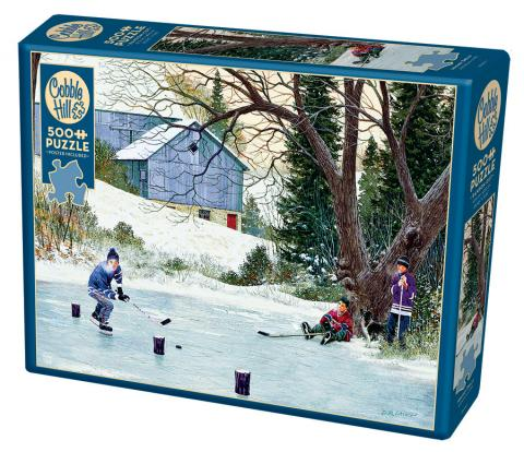 Hockey Drills 500 piece puzzle by Cobble Hill