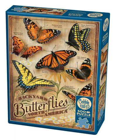 Backyard Butterflies |500 pieces| Cobble Hill puzzle