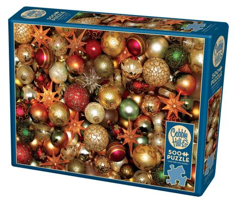 Christmas Balls 500 piece jigsaw puzzle TOP Puzzle