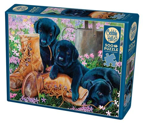 Trouble in the Garden | 500 pieces | Cobble Hill Family Puzzle
