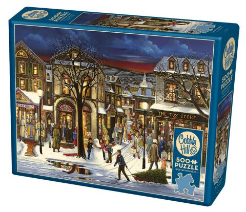 Cobble Hill 500 piece jigsaw puzzle - Tis the Season