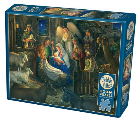 Away in a Manger - 500 piece Christmas Puzzle by Cobble Hill