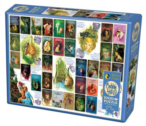 Nancy Drew Mysteries 500 pc by Cobble Hill Puzzle Co