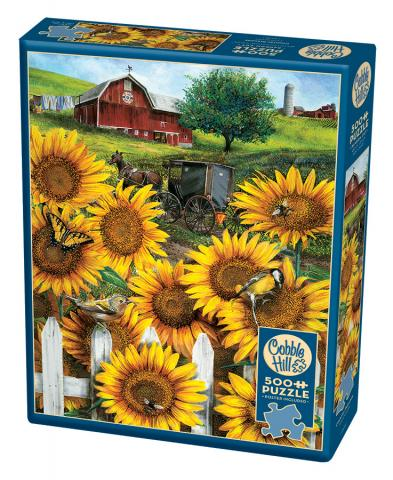 Country Paradise 500 Piece by Cobble Hill Puzzle Co