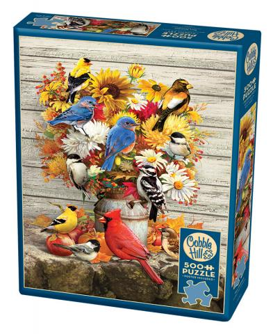 Fall Harvest 500 piece jigsaw puzzle by Cobble Hill