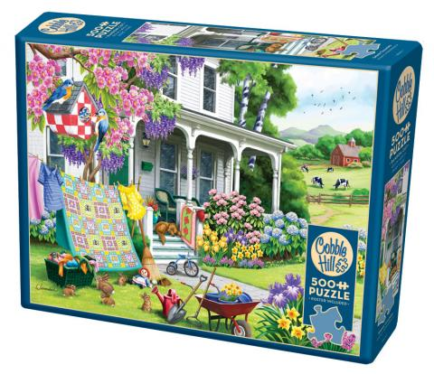 Spring Cleaning 500 piece jigsaw puzzle by Cobble Hill